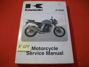 KAWASAKI Z1000 Z 1000 FACTORY MOTORCYCLE SERVICE MANUAL  # 99924-1310-04 2003-05