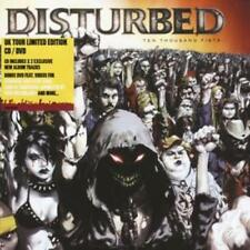 Disturbed : Ten Thousand Fists [special Edition Cd + Dvd] CD (2006) ***NEW***