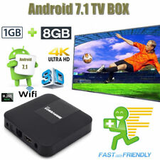 Android Box 7.1 with 12 months free IPTV warranty + WIFI +mag plug and play