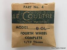Jaeger LeCoultre 4th Wheel and Pinion Cal. 90L Part #220 4