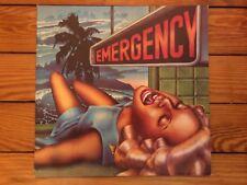 Emergency – No Compromise 1974 Brain 1052 Jacket VG+ Vinyl NM