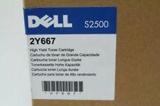 Dell S2500 Printer High Yield Toner Cartridge  2Y667 Brand New Genuine
