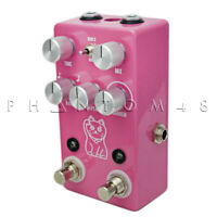 JHS Pedals - Lucky Cat Digital Delay/Echo Pedal - PINK - NEW!