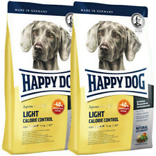 2 x 12,5 kg Happy Dog Supreme Fit & Well Light Calorie Control