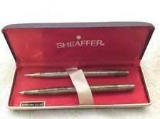 SHEAFFER STERLING SILVER GRAPE AND LEAVES PEN PENCIL SET