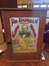 Vintage Veterinary-Dr. Daniels' Veterinary Medicines Cabinet