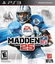 Madden NFL 25 PS3 Great Condition Complete Fast Shipping