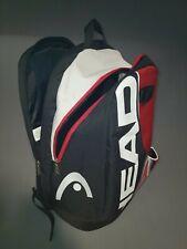 HEAD Tour Team Tennis Backpack Black Red Gray White