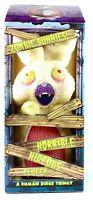 Roman Dirge Thingy Zombie Bunnies! Horrible Hideous Fluffy Bunny Plush RARE NIB!