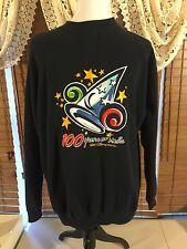 Walt Disney World 100 Years Of Magic Sweatshirt Blue Mickey Mouse Xl Extra Large