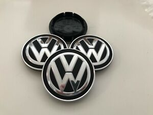 4 Original VW Radnabenkappen Felgendeckel Alufelgen 5G0601171 Neu OVP