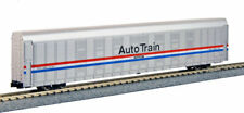 Kato N Scale Autorack Auto Carrier Amtrak Phase III 4 Car Set #1 1065507
