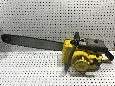 """Vintage Mcculloch Chainsaw 450 24"""""""