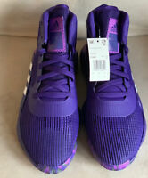 Adidas Pro Bounce 2019 Low Purple EF0673 Mens Size 13 BRAND NEW