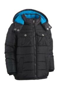 Tommy Hilfiger Alexander Hooded Puffer Coat, Little Boys Size 4