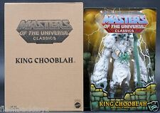2015 MOTU King Chooblah MOTUC Masters of the Universe Classics MOC