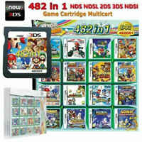 NEW 482 In 1 Games Card Cartridge Multicart For Nintendo NDS NDSI NDSL Game