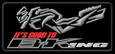 Suzuki B-King It's Good To BKing 1300 1400 bike ecusson brodé patche patch