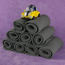 10 PCS/Set Bamboo Fiber Charcoal Washable Cloth Diaper Nappies Inserts 4 Layers