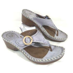GUC Women's Ariat Thong Sandals Purple Sz 8 B