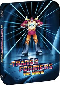 The Transformers The Movie Anniversary Limited Edition New 4K Mastering Blu-ray