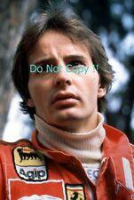 Gilles Villeneuve Ferrari F1 Portrait Photograph 3
