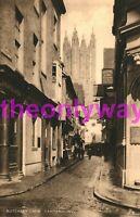 Butchery Lane, Canterbury, Tuck Postcard 1900/10s?