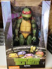 NEW! NECA Teenage Mutant Ninja Turtles 1/4 Scale Action Figure Raphael 1990