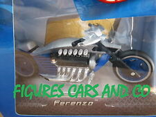 MOTO 1/18 DRAGSTER V12 FERENZO GRIS 2005  HOT WHEELS