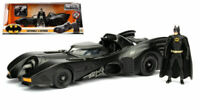 Batman 1989 Tim Burton's Movie Batmobile w/ Figure 1:24 Model JADA TOYS