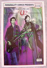 U2 / Bono Comic From Personality Comics Presents Music Comics #2 1st Print Vhtf!