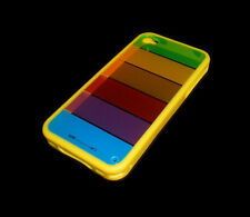 LIM'S RAINBOW DESIGN APPLE IPHONE 4 4S SMARTPHONE CASE SUPER FAST SHIPPING