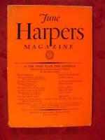 HARPER's June 1931 STUART CHASE ANDRE MAUROIS KAY BOYLE MARGARET CULKIN BANNING