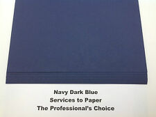 Navy Royal Dark Blue Acid Free Thick Card A3 300gsm 20 Sheets  ** New Stock **