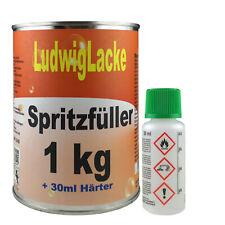 2K Grundierung 1 kg Set Spritzfüller grau & Härter für Autolack  Ludwiglacke