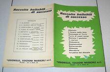 Spartiti RACCOLTA DI BALLABILI DI SUCCESSO - 1974 Songbook spartito