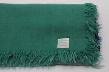 Chan Luu NEW Verdant Green/Mediaval Blue Cashmere and Silk Scarf #CHCASH15 $195