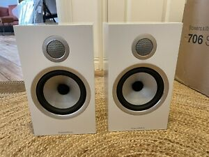 Bowers & Wilkins (B&W) 706 S2 White (pair), excellent condition