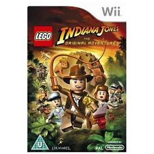 LEGO Indiana Jones - The Original Adventures [Wii] -COMPLETE =Indy play 3 movies