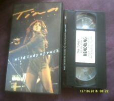 TINA TURNER-WILD LADY OF ROCK VHS VIDEO