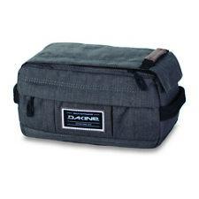 Mens Dakine Manscaper Travel Kit Toiletry Travel Wash Bag Carbon