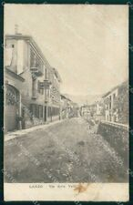 Torino Lanzo Torinese Via delle Valli Albergo Torino MACCHIA cartolina RB8682
