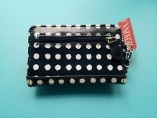 Merona (Small) Phone Case Wristlet Wallet Navy Polka Dots New With Tags