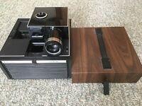 Vintage Antique Bell & Howell 35mm slide projector CUBE Model AF70 Good shape!