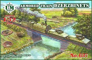 UM Technics 1:72 Dzerzhinets Armoured Train Model Kit