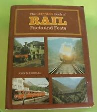 Book1003 - GUINESS Book Of RAIL FACTS & FEATS John Marshall 1975