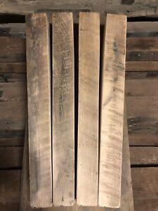 Reclaimed Tapered Oak Table Leg Set