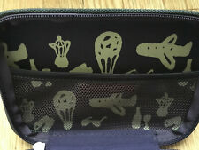 China Airlines business class amenity kit bag / Green travel bag Taiwan