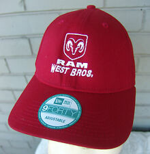 West Brothers Dodge Ram Missouri Truck Dealership One Size Baseball Cap Hat