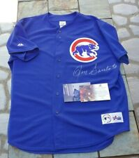 SIGNED DEC CHICAGO CUBS HOF RON SANTO NEW MAJESTIC JERSEY GLOBAL CERTIFIED PROOF